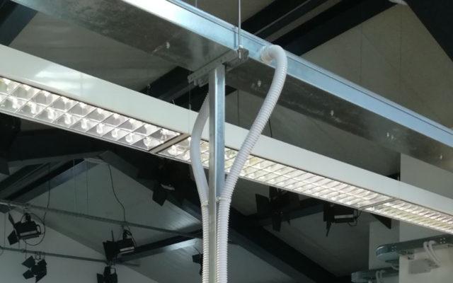 Impianti elettrici a Catania   impianti radio zammù realizzati da MVM Holding